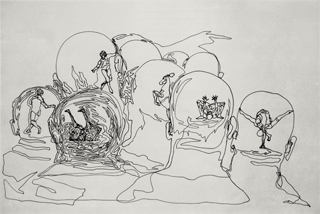 Endless drawings, 2004-2008 - image1